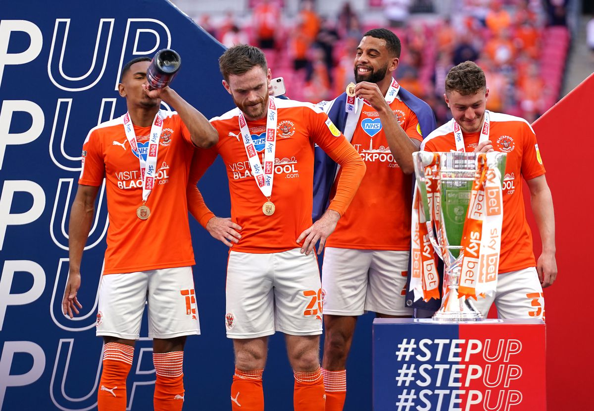 Blackpool v Lincoln City - Sky Bet League One - Playoff - Final - Wembley Stadium