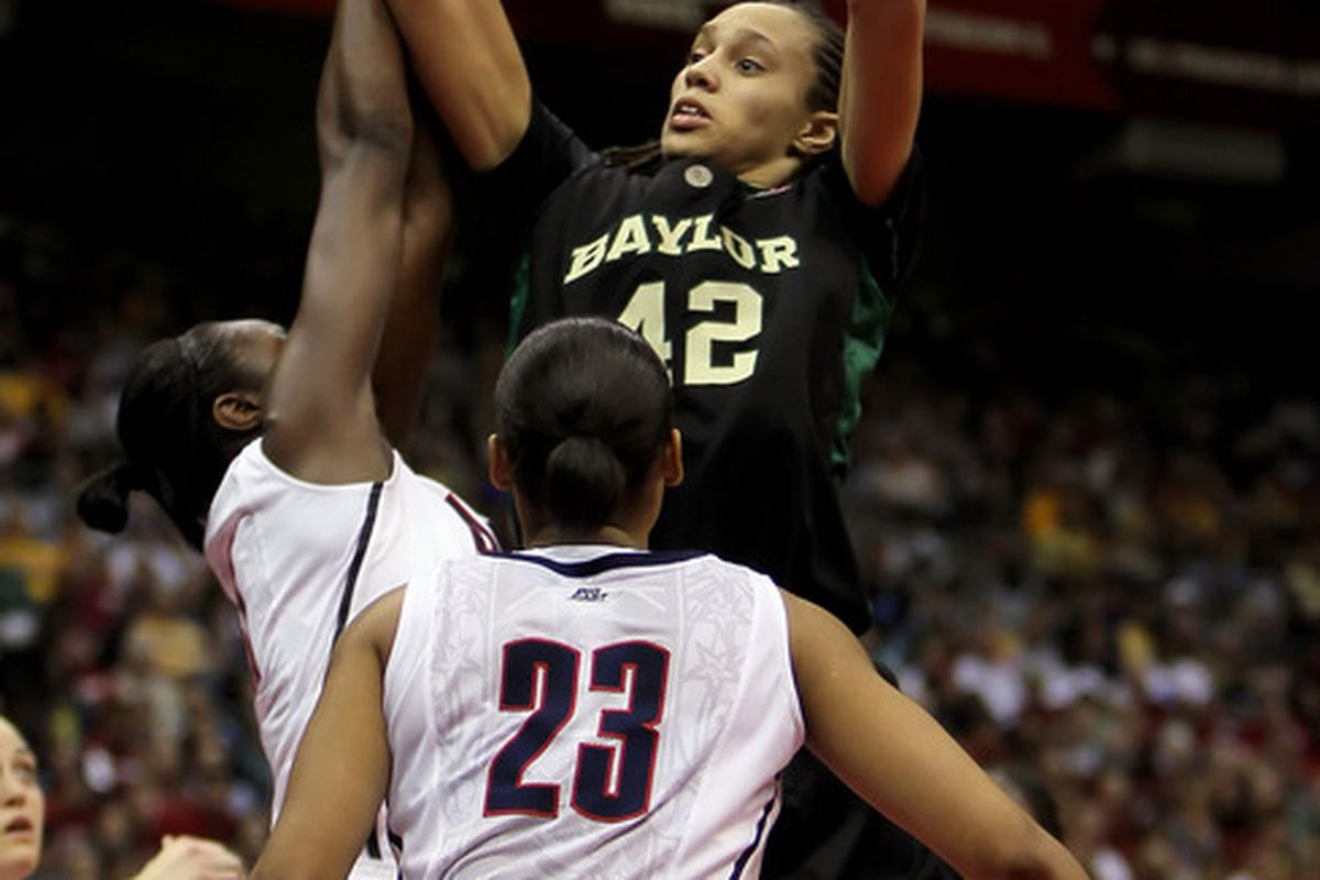Brittney Griner is probably the only person in the country that can keep UConn from getting to 88 wins.