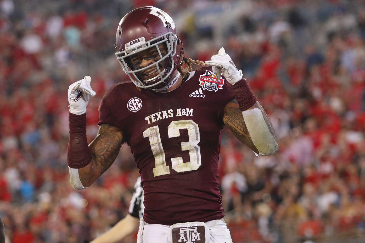 COLLEGE FOOTBALL: DEC 31 Taxslayer Gator Bowl - NC State v Texas A&M