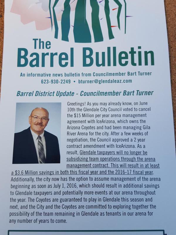 Bart Turner Bulletin