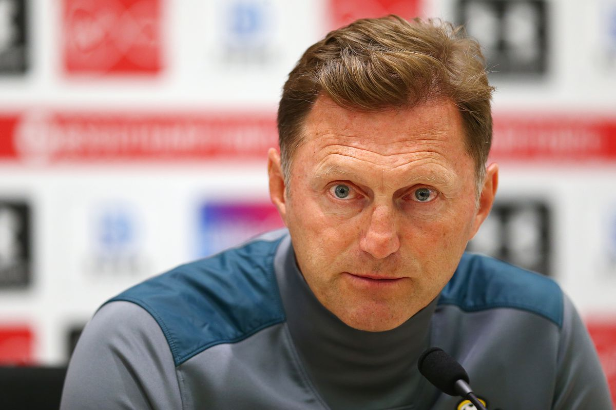 Southampton FC Training Session and Press Conference