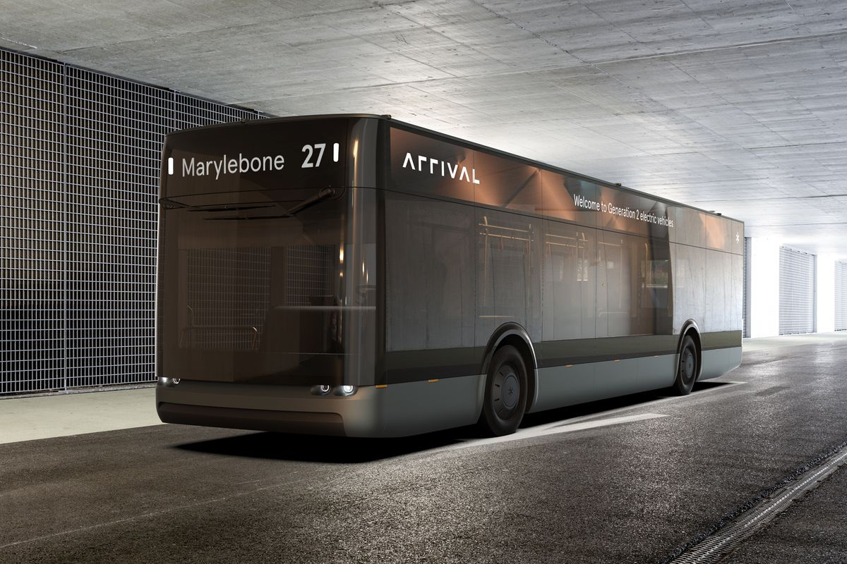 Arrival expands beyond electric delivery vans with a new EV bus - The Verge