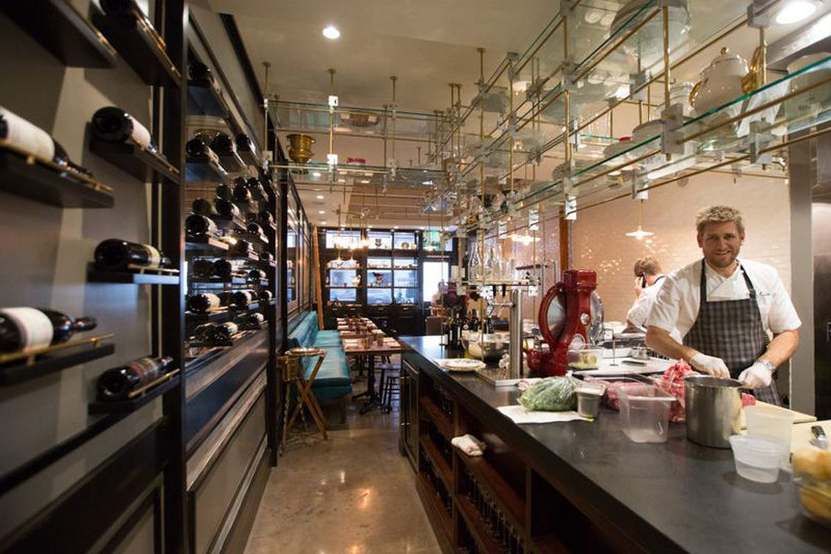 Curtis Stone at Maude, Beverly Hills