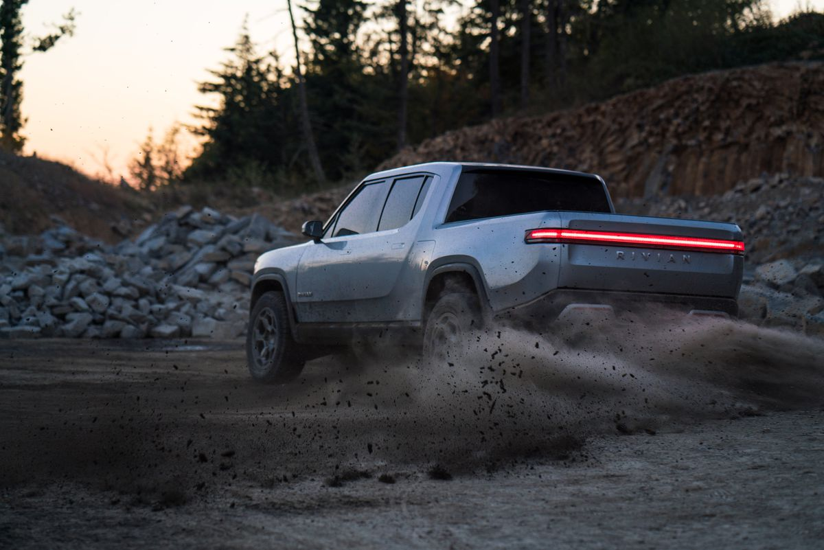 The all-electric Rivian R1T is a dream truck for adventurers
