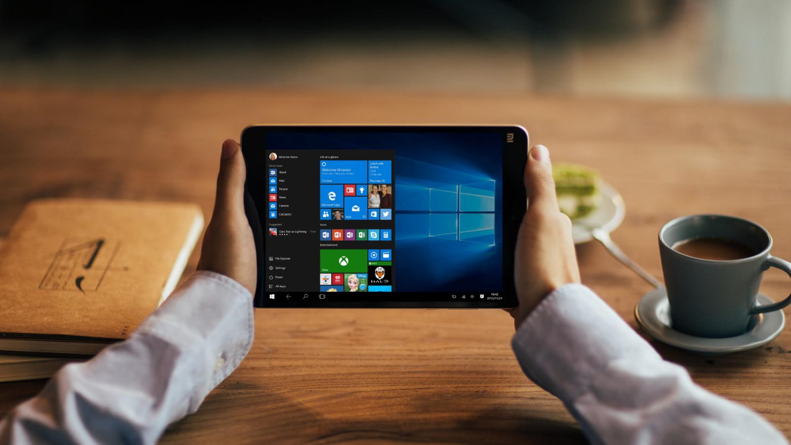 Xiaomi's Mi Pad 2 is an iPad mini that runs Windows 10