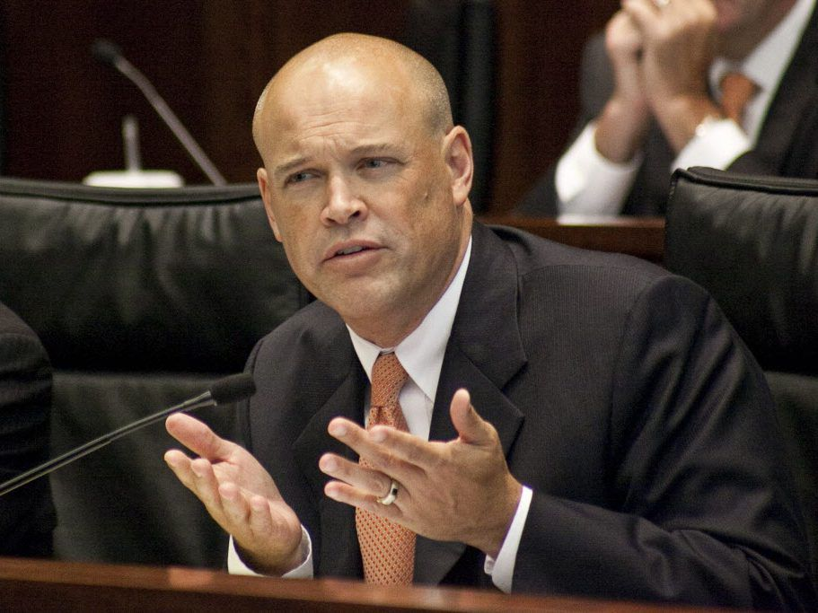 Former state Rep. Ron Sandack, R-Downers Grove, in 2014.   Ashlee Rezin / Sun-Times