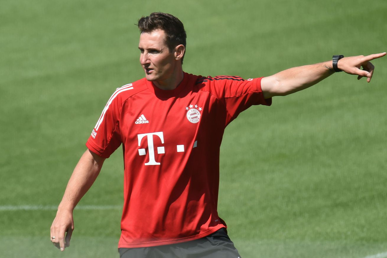 Miroslav Klose to focus on new Bayern signings, work with strikers and younger players