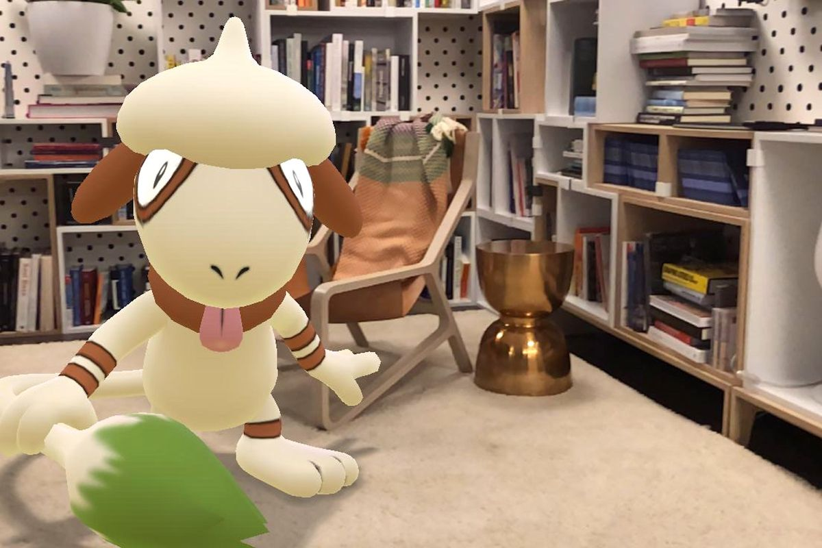 AR pada Pokemon GO