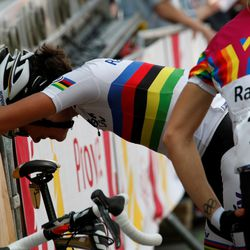 Even Vos is exhausted by the Mur!