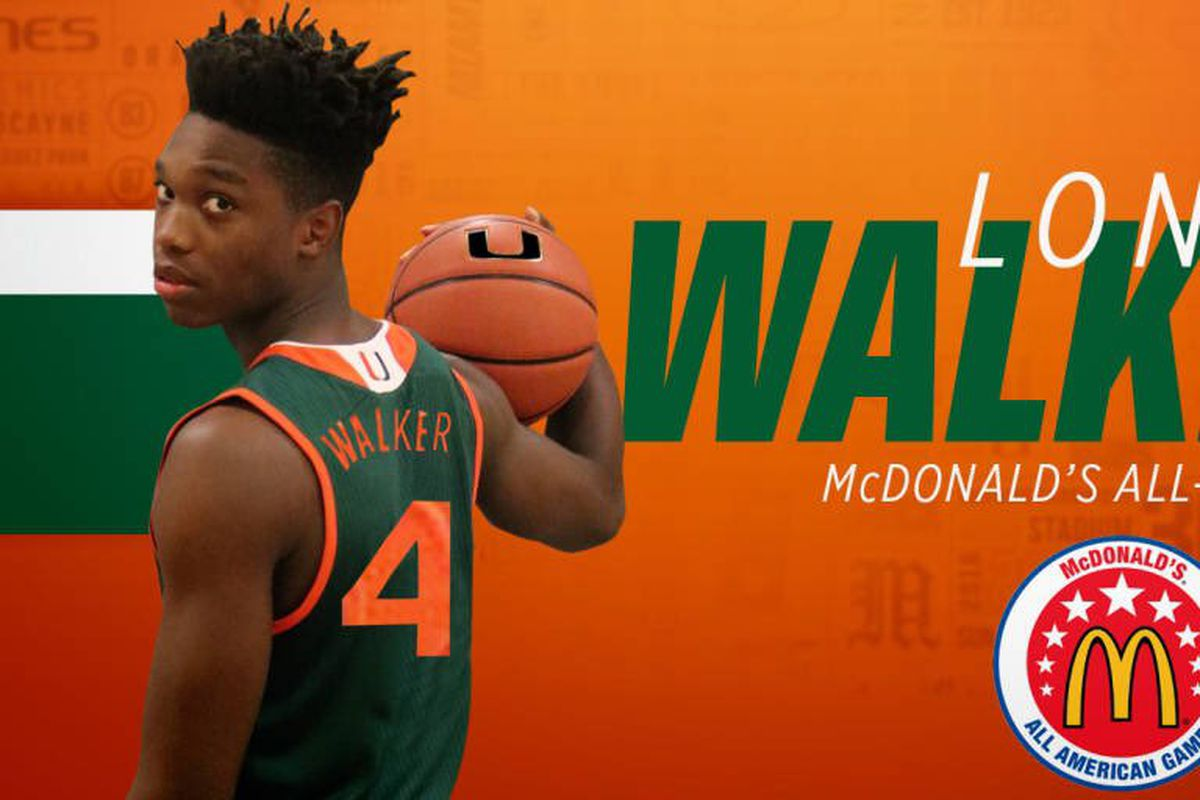 f054ead2dab Canes Hoops signee Lonnie Walker named McDonald s All-American ...