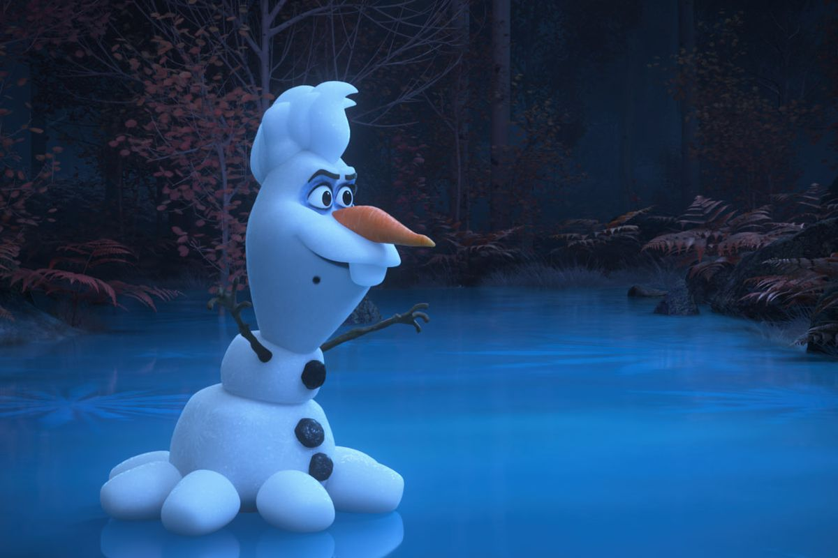 "In ""Olaf Presents,"" Olaf retells Disney classics like ""The Little Mermaid."""