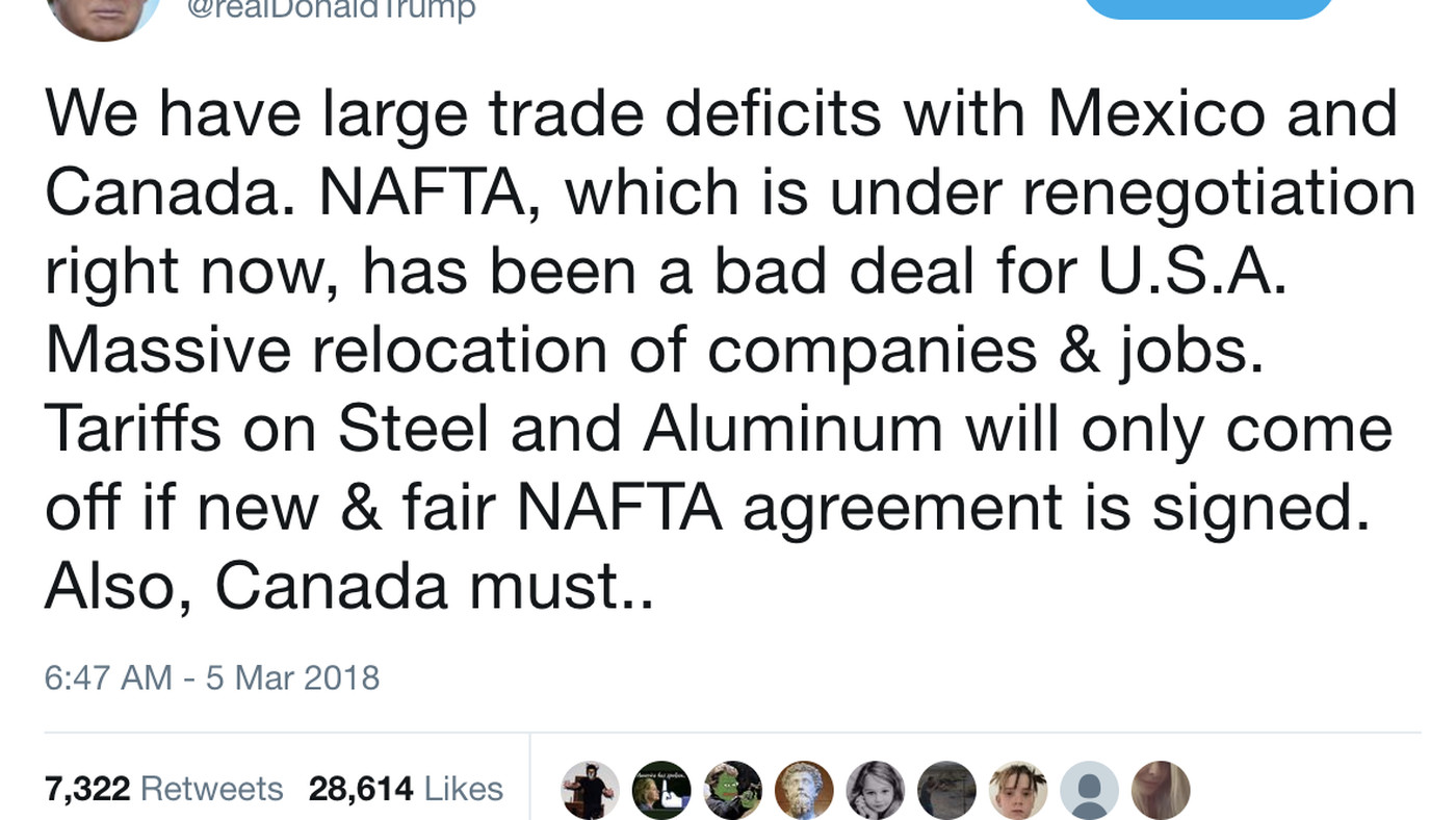 Trump Might Drop Tariffs For Mexico And Canada Depending On New