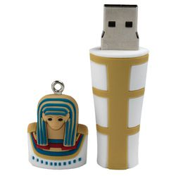 """Mummy Flash Drive, <a href=""""http://store.metmuseum.org/electronic-accessories/flash-from-the-past-mummy-flash-drive/invt/80008579#.U2o9U8dSn2c"""">$24.95</a> at <b>The Metropolitan Museum of Art</b>"""