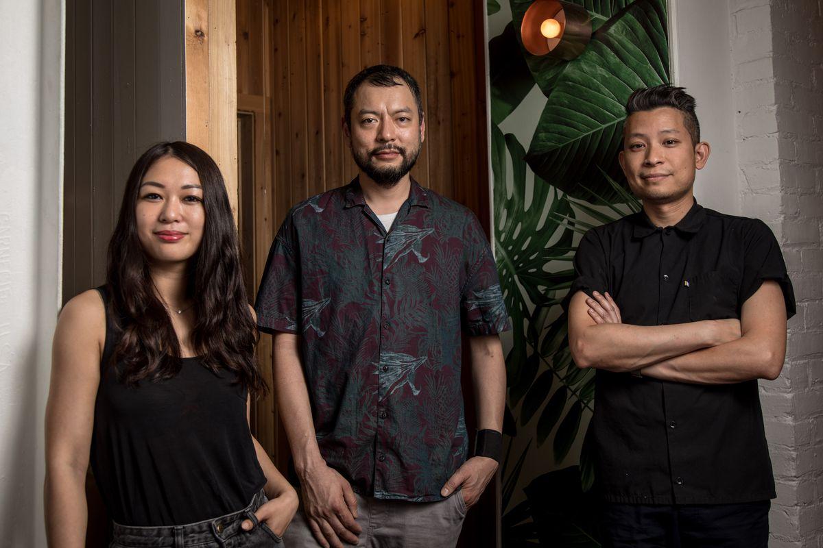Kim Hoang, Tuan Bui, and Dennis Ngo