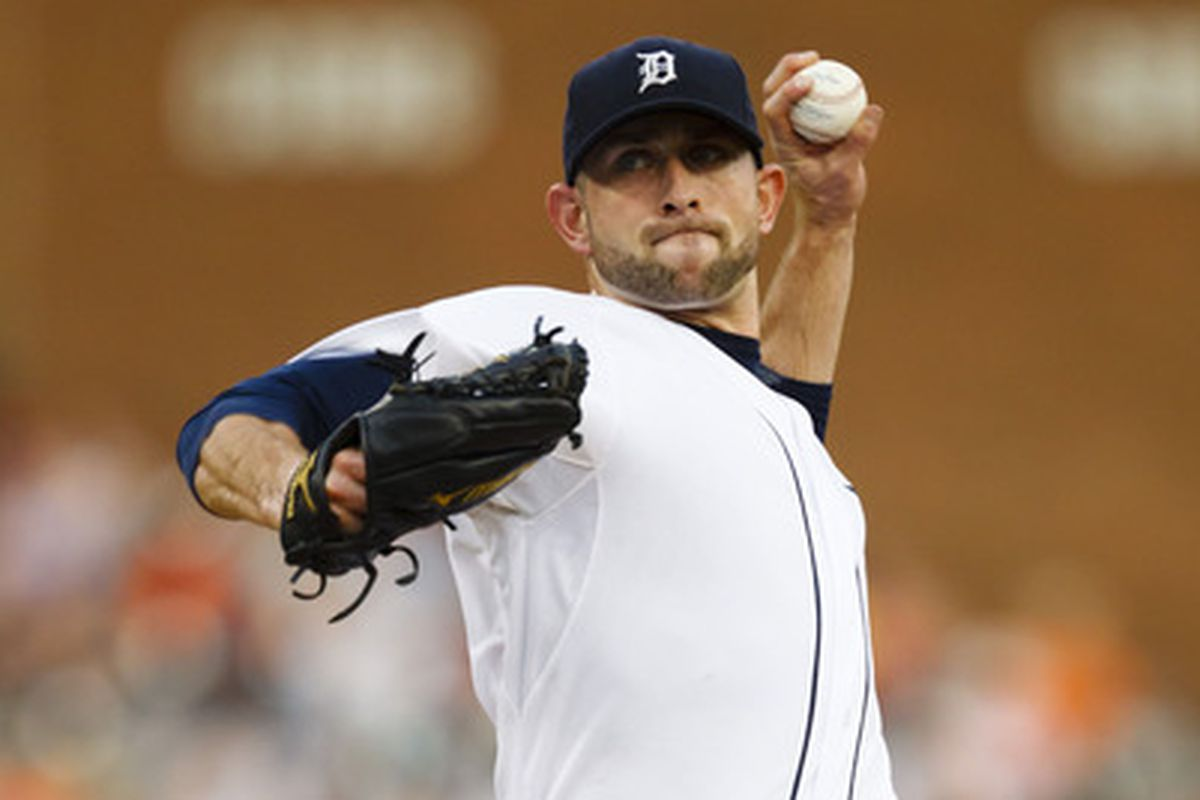 Duane Below started for Detroit on July 3, 2012 against the Twins at Comerica Park