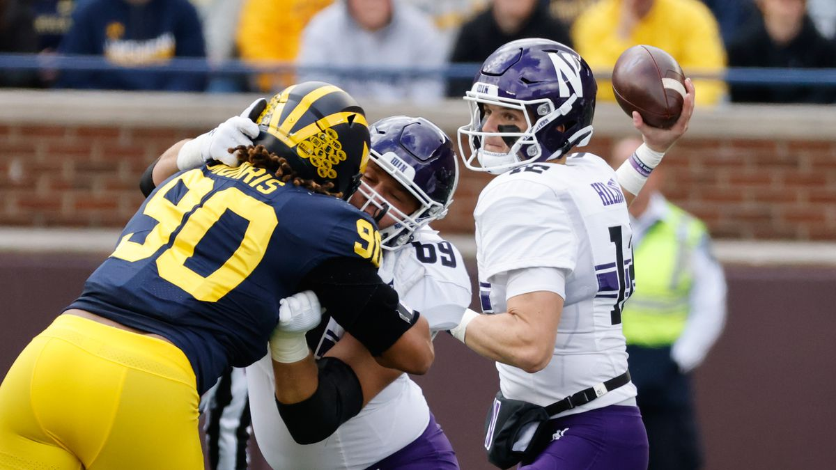 NCAA Football: Northwestern at Michigan