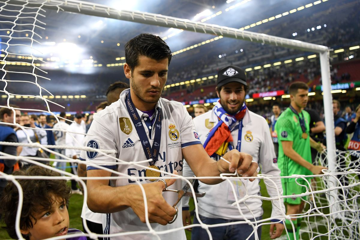 Alvaro Morata: 'I want to stay at Real Madrid'