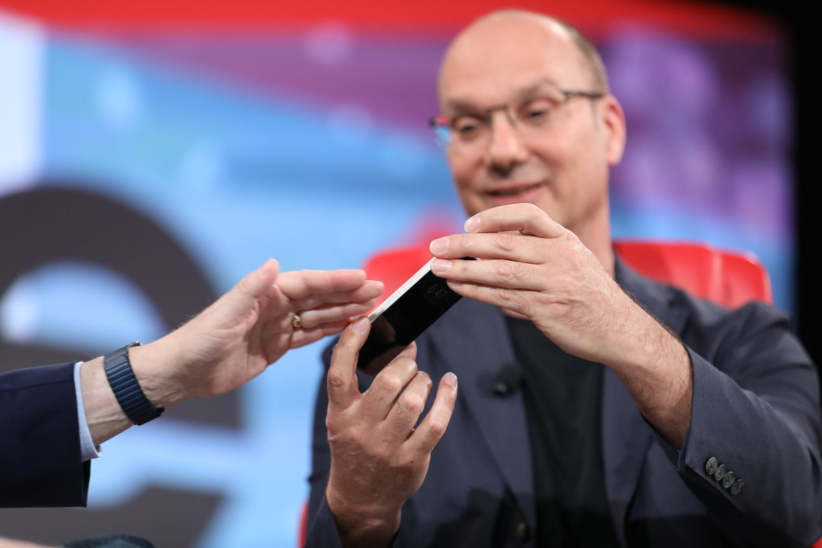 Andy Rubin, Essential phone, Code 2017