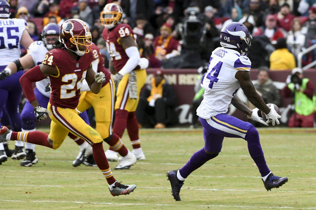 NFL: NOV 12 Vikings at Redskins