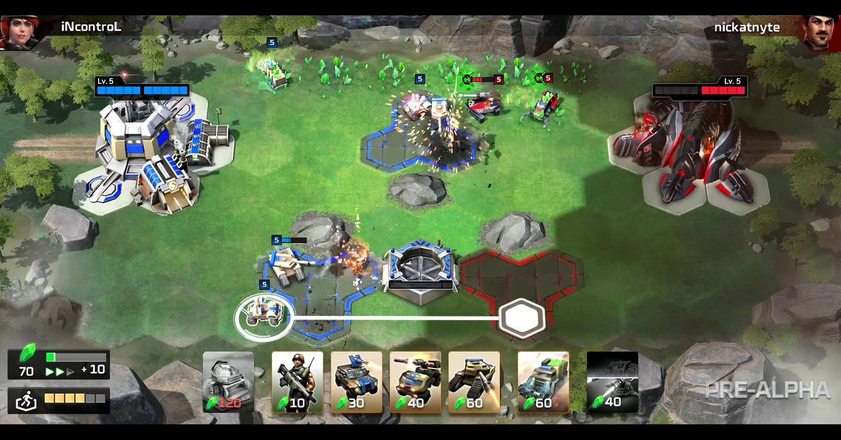 Command & Conquer: Rivals brings classic strategy to the