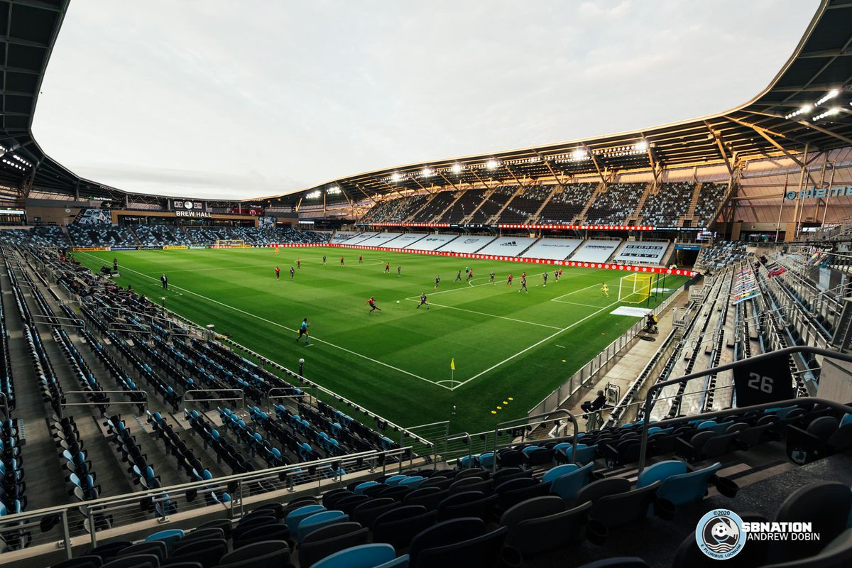 September 9, 2020 - Saint Paul, Minnesota, United States - Scenes from the Minnesota United vs FC Dallas match at Allianz Field.