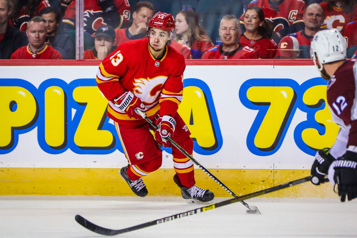 NHL: Stanley Cup Playoffs-Colorado Avalanche at Calgary Flames