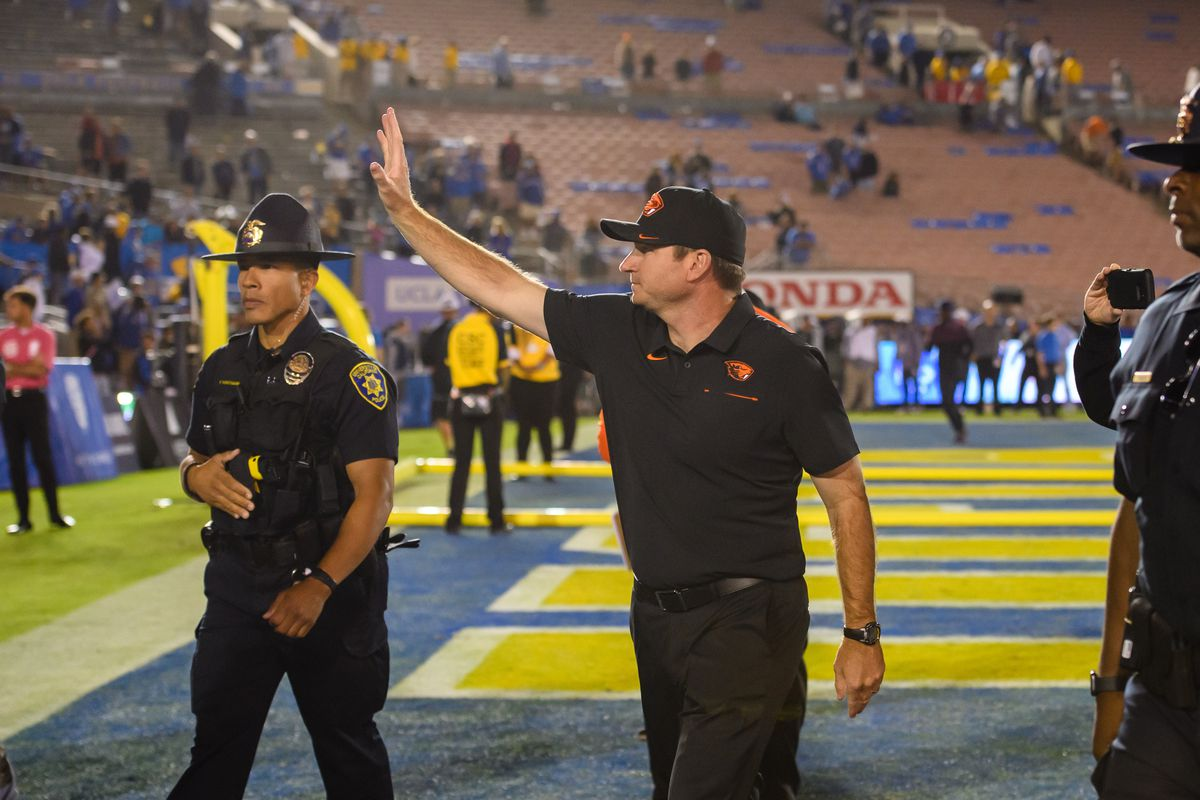COLLEGE FOOTBALL: OCT 05 Oregon State at UCLA