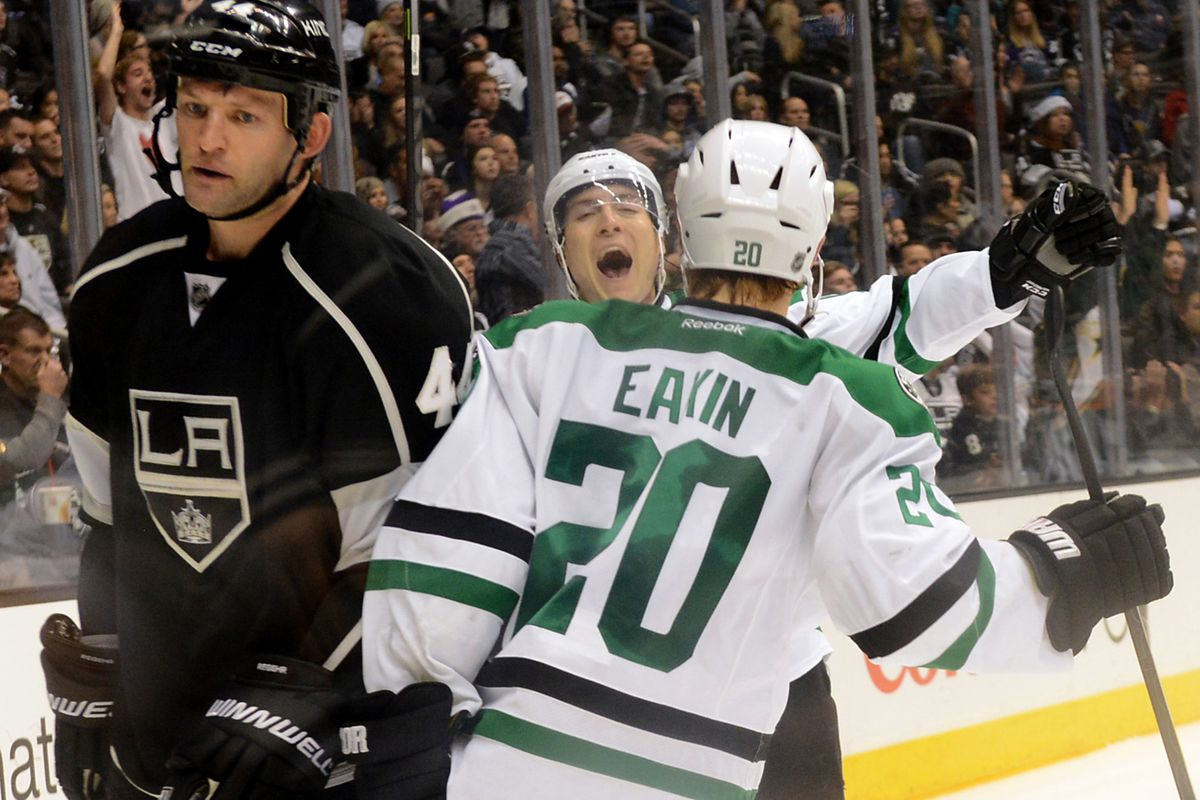 Act like you've been there before, Valeri. Modano would be so ashamed.