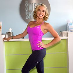 """<a href=""""http://la.racked.com/archives/2014/08/12/hottest_trainer_contestant_4_naomi_priestley.php""""><b>Naomi Priestley</b></A> of The Sweat Shoppe"""