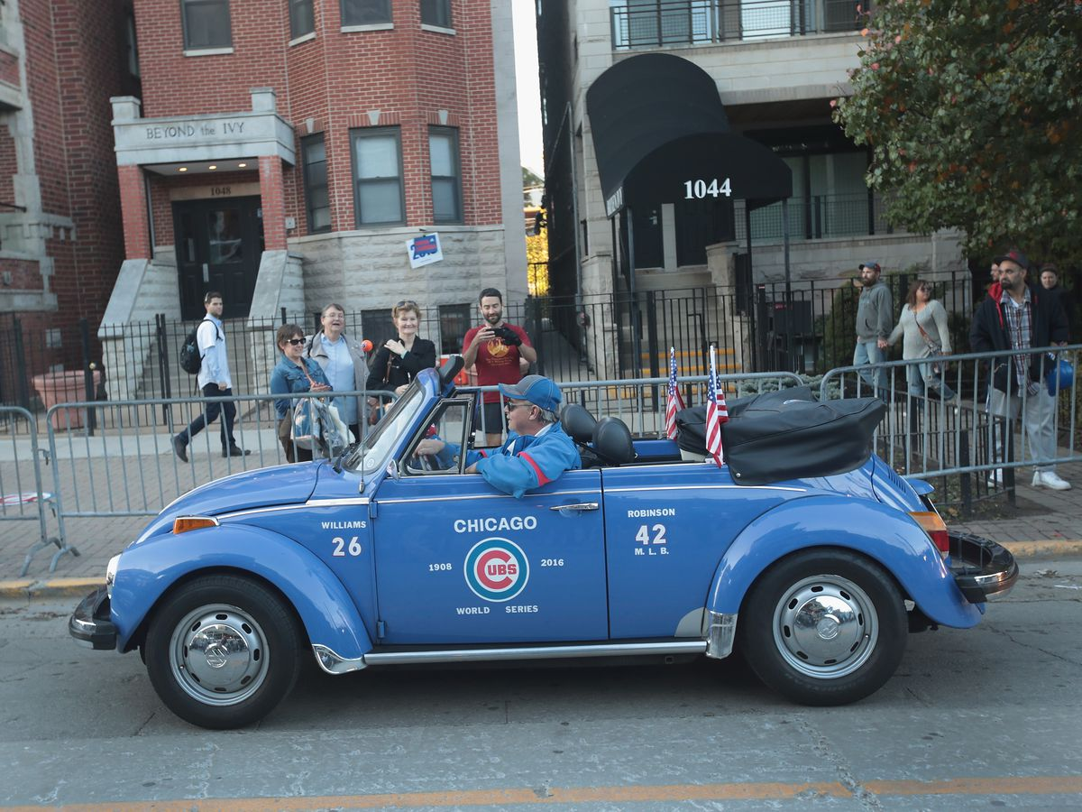 Cubs fans waited a long time for today's World Series parade.