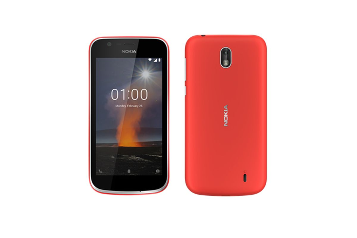 The Nokia 1 joins Google's Android Go effort with removable