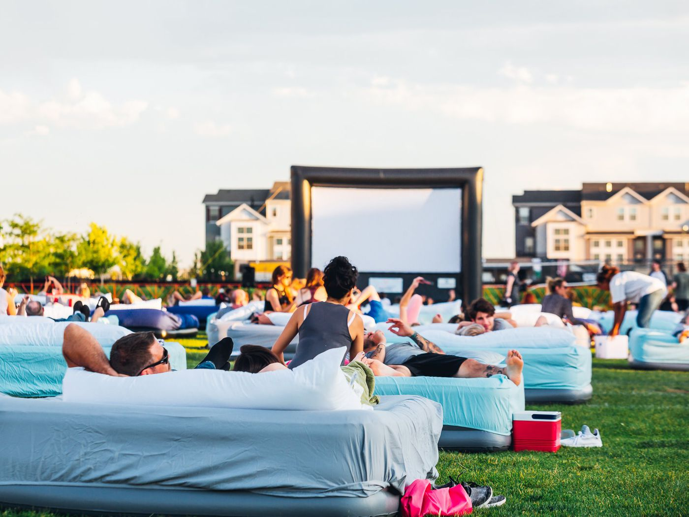 Outdoor Bed Movie Theater Bed Cinema Is Coming To Austin In July Eater Austin