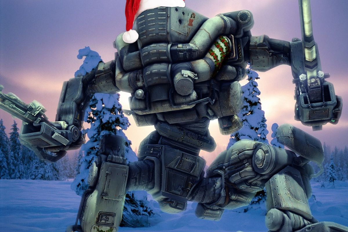 A merry mech Christmas from Meteor Entertainment and Adhesive Games