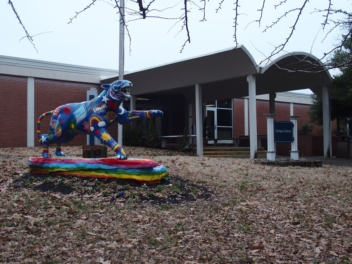 Campus School serves first through fifth grades on the University of Memphis campus. Children of faculty and staff are given priority in admissions.