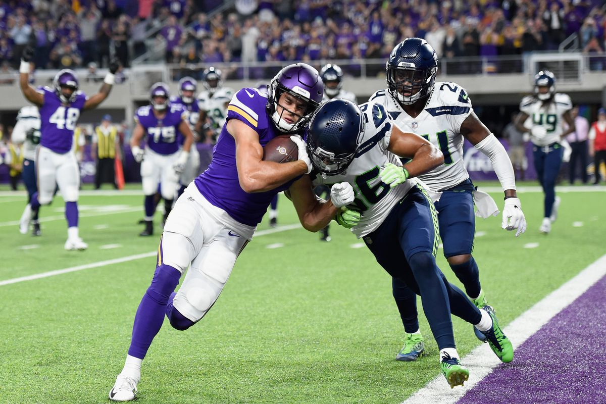 Monday Night Football Minnesota Vikings Seattle Seahawks Live