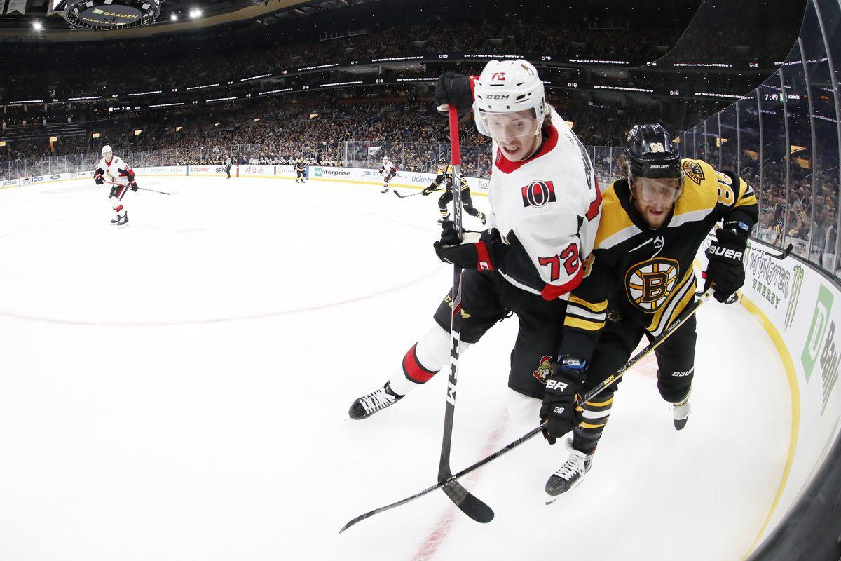 NHL: NOV 02 Senators at Bruins