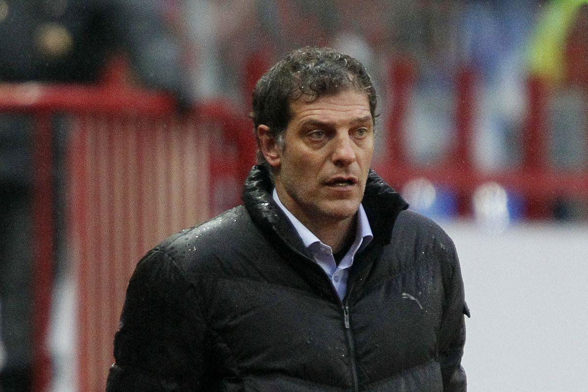 The SBN server doesn't have any photos of Dario Saric, so here's Croatian soccer coach Slaven Bilic instead.