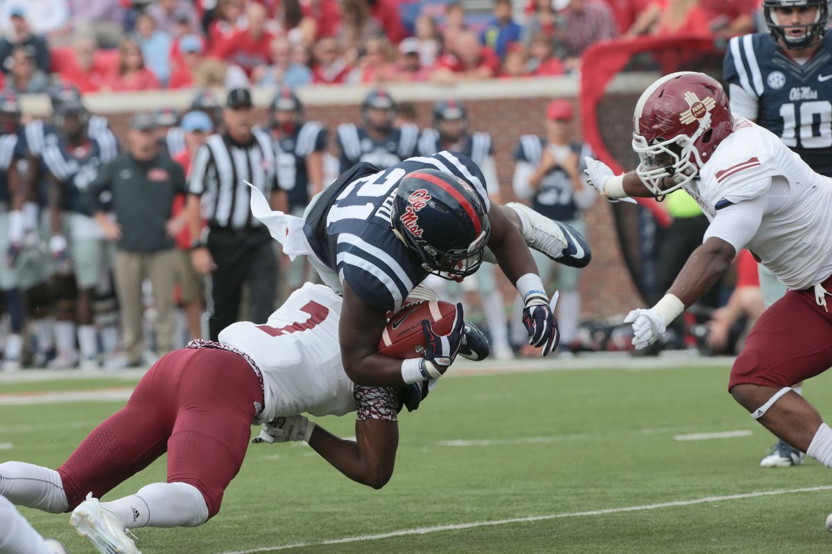 NCAA FOOTBALL: OCT 10 New Mexico State at Ole Miss