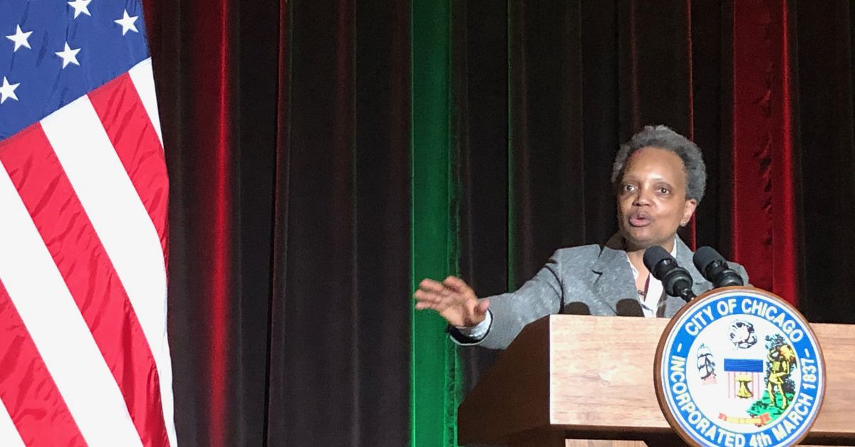Mass shooting turns attention to violence at Lightfoot's Black History Month celebration