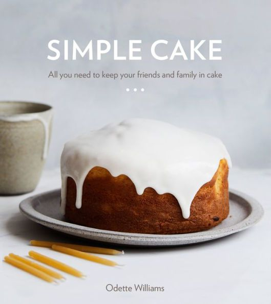 """The cover of """"Simple Cake."""""""