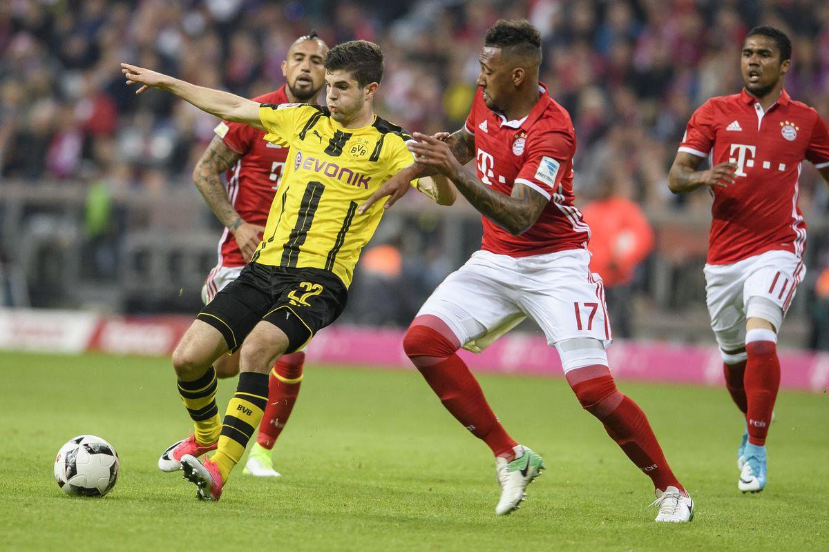 Bayern Munich Vs Borussia Dortmund 2017 Live Stream Time Tv