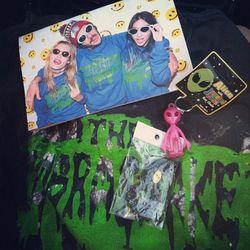 "Haul from The Cobrasnake's booth [Photo via <a href=""http://instagram.com/p/Pnd3oLBXF0/"">delaneymeow</a>]"