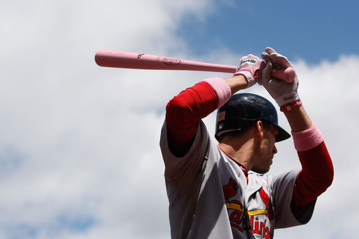 Joe Mather could be a useful player for a team full of talented left-handed hitters.