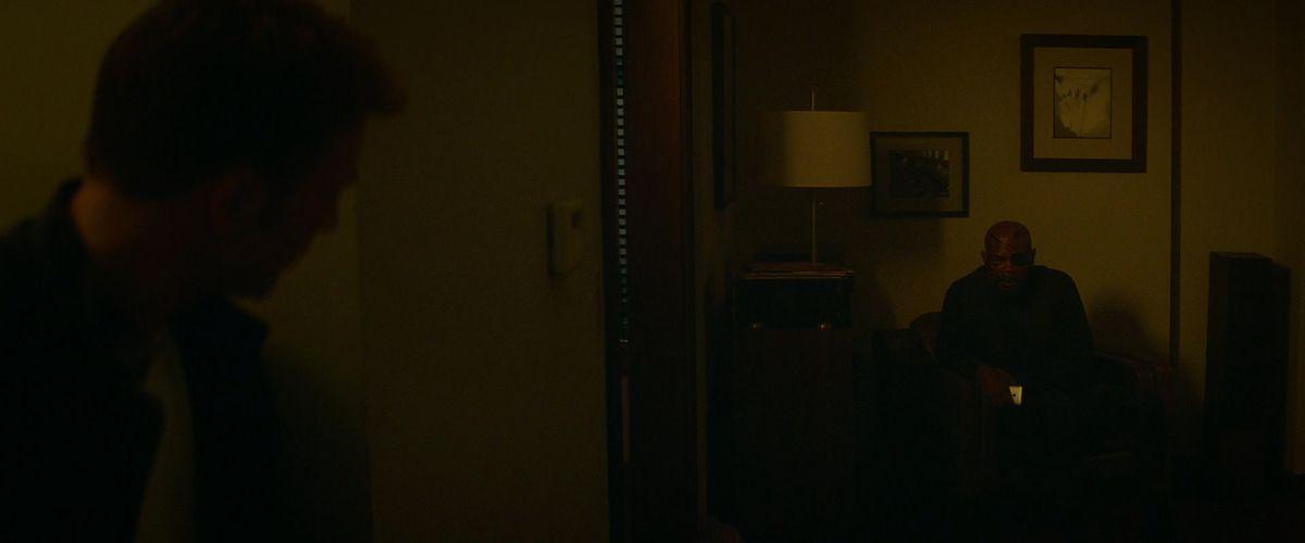 复仇者联盟:Endgame的Cap arc在美国队长:冬兵中有一面镜子