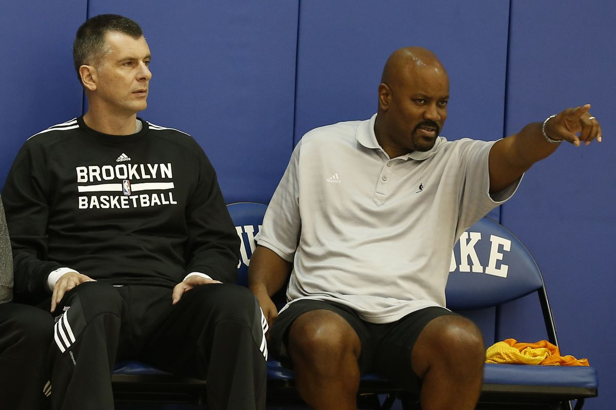 Brooklyn Nets Training Camp with Mikhail Prokhorov