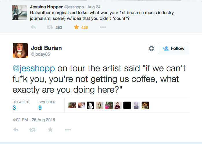 music industry sexism