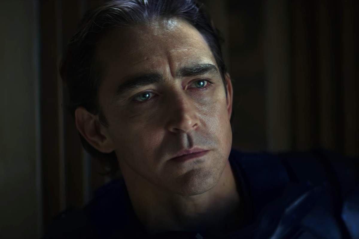 Foundation still with Lee Pace