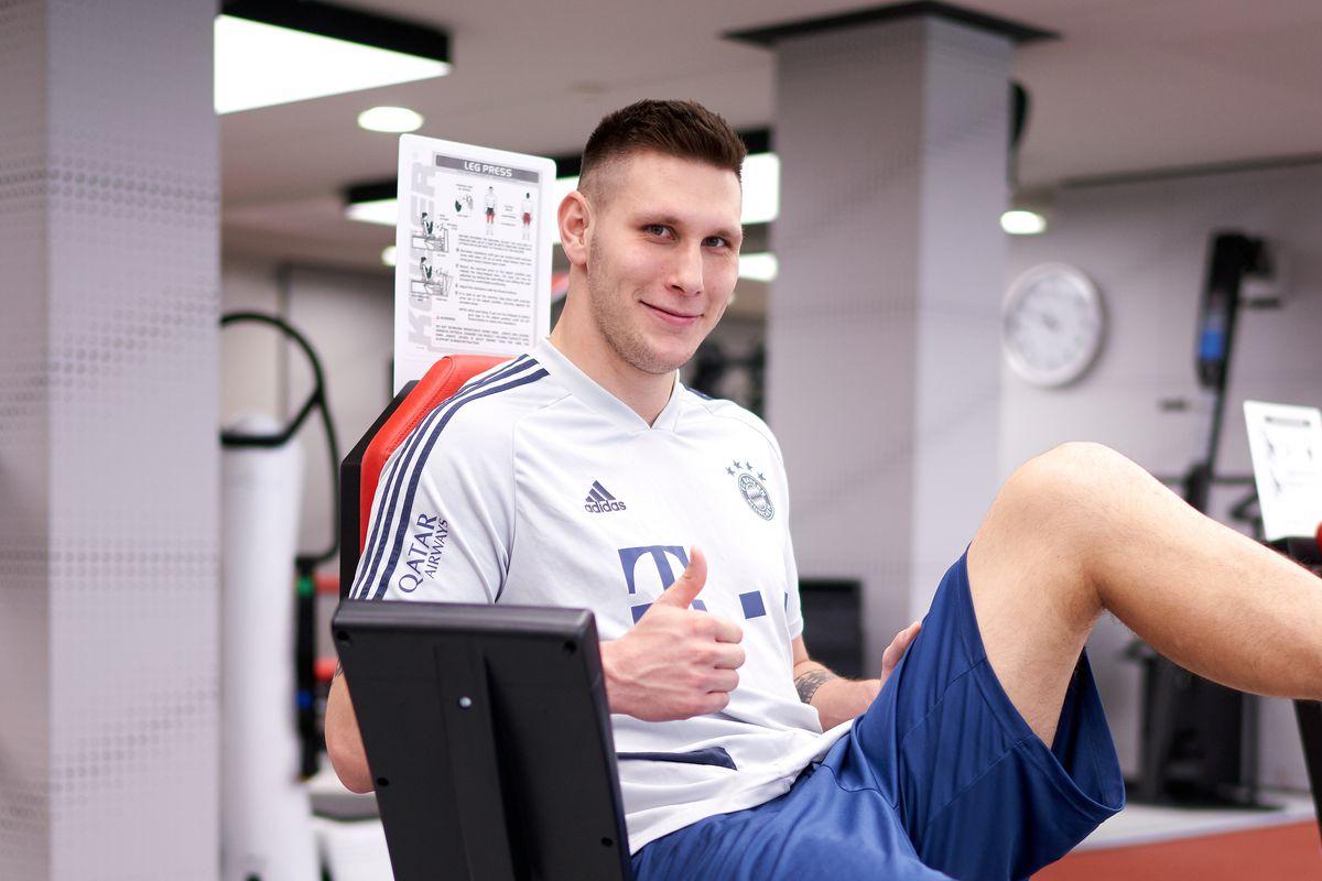 Niklas Süle Rehab Training