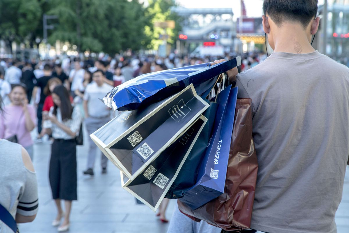 """09a105febe China s controversial new social credit system punishes consumers for both  spending habits and """"bad"""" behaviors. Zhang Peng LightRocket via Getty  Images The ..."""