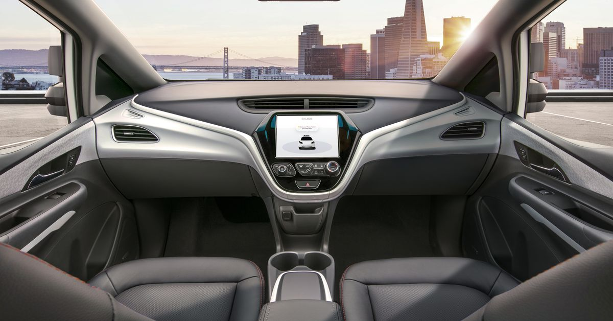 photo image General Motors is asking the U.S. government to let it test cars without steering wheels in 2019